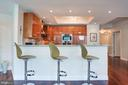 Breakfast Bar with Seating - 1881 N NASH ST #703, ARLINGTON