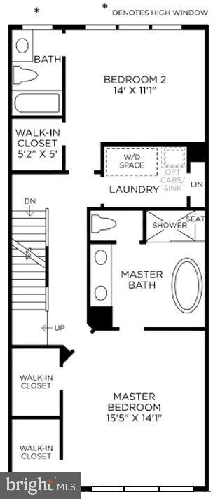 Sayer Contemporary Bedroom Level - 11742 SUNRISE VALLEY DR, RESTON