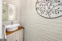 Powder Room off breakfast area - 406 HANOVER ST, FREDERICKSBURG
