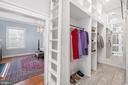 Huge walk in master closet - 406 HANOVER ST, FREDERICKSBURG