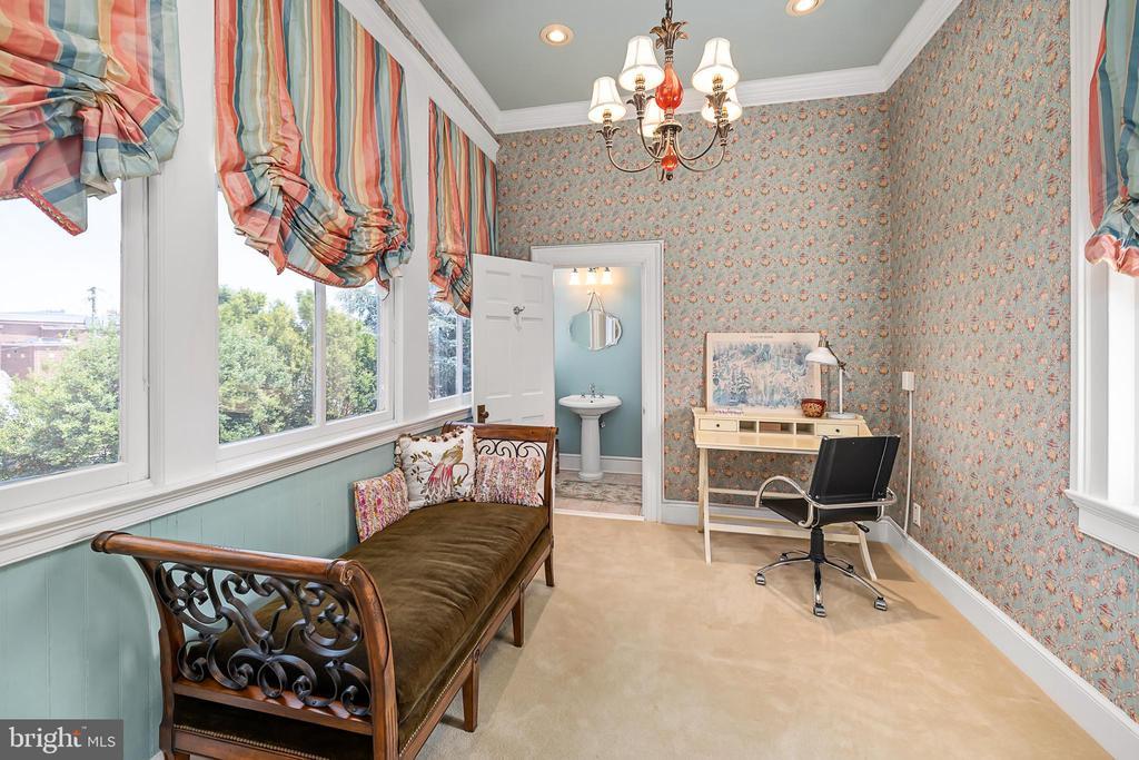 Multi purpose room with full bath - 406 HANOVER ST, FREDERICKSBURG