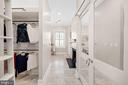 Expansive master closet and bath - 406 HANOVER ST, FREDERICKSBURG
