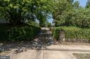Private entrance to property from Charlotte Street - 406 HANOVER ST, FREDERICKSBURG