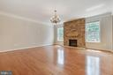 Hardwoods Throughout Main Level - 15879 FROST LEAF LN, LEESBURG