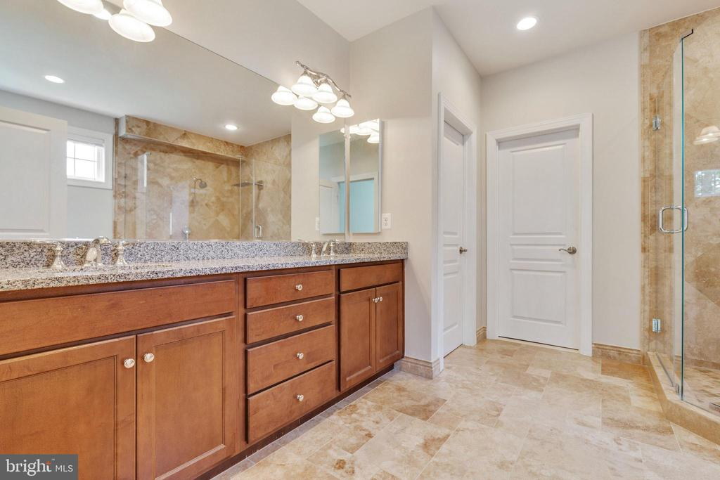 Luxury  Master Bathroom Updated in 2016 - 15879 FROST LEAF LN, LEESBURG