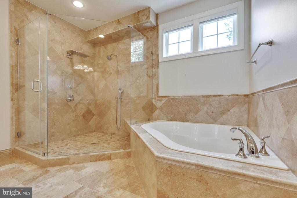 Luxury Shower & Soaking Tub - 15879 FROST LEAF LN, LEESBURG