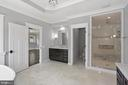 Arabescato Marble Floors and Accents - 105 MASHIE CT SE, VIENNA