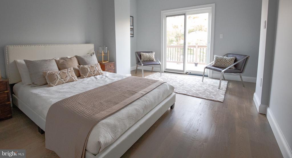 Master bedroom - 50 BRYANT ST NW, WASHINGTON