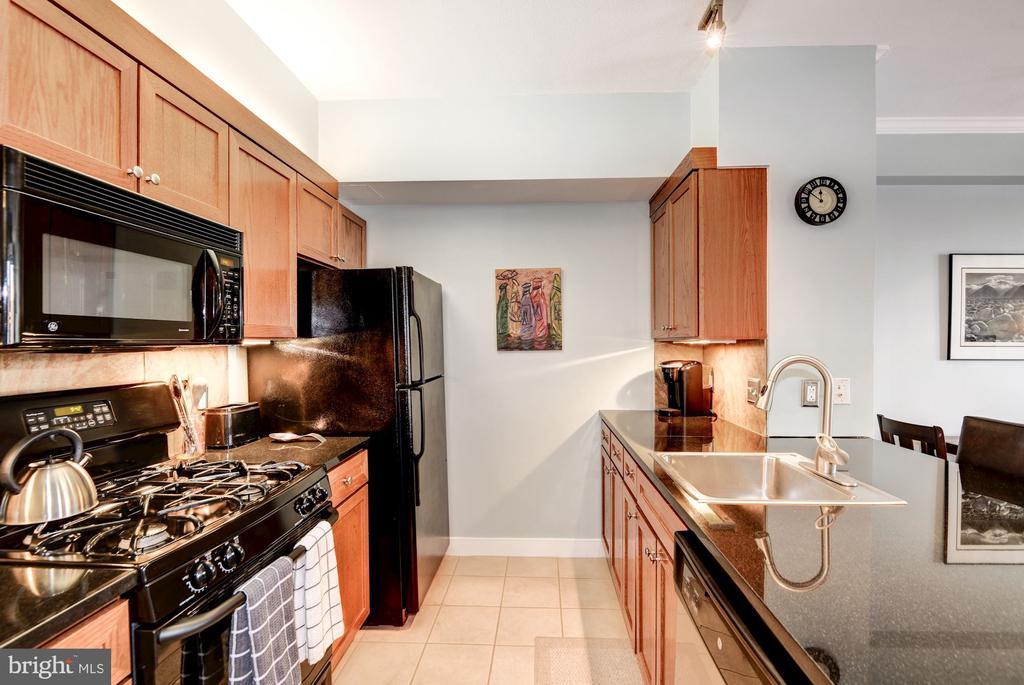 Updated Kitchen w/ Plenty of Counter & Cabinets - 616 E ST NW #1201, WASHINGTON