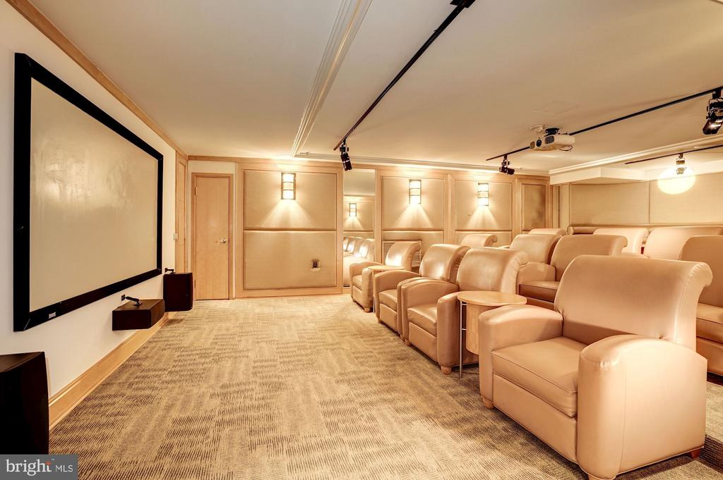 Watch the Latest in Movies in Your Own Theater! - 616 E ST NW #1201, WASHINGTON