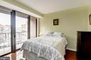 Master Bedroom Area w/ Separate Balcony - 616 E ST NW #1201, WASHINGTON