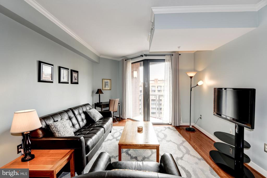 Living Room to Fit Multiple Configurations - 616 E ST NW #1201, WASHINGTON
