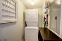 In-Unit Stacked Washer/Dryer w/ Additional Storage - 616 E ST NW #1201, WASHINGTON