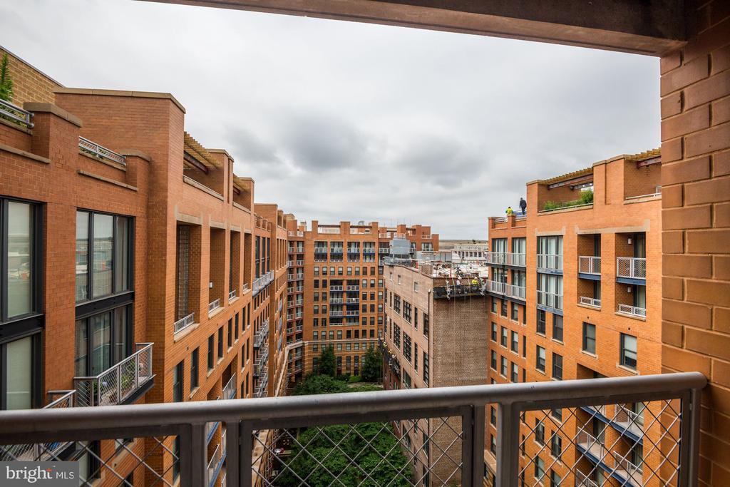 Courtyard Views from Balcony No. 1 - 616 E ST NW #1201, WASHINGTON
