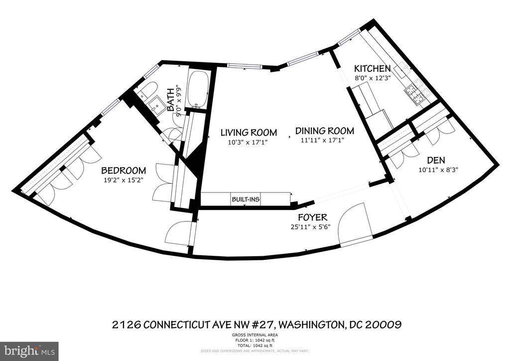 Floor Plan - 2126 CONNECTICUT AVE NW #27, WASHINGTON