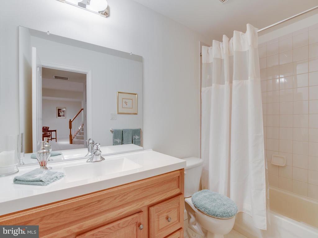 Lower Level-Full Bath - 8853 WARM GRANITE DR #35, COLUMBIA