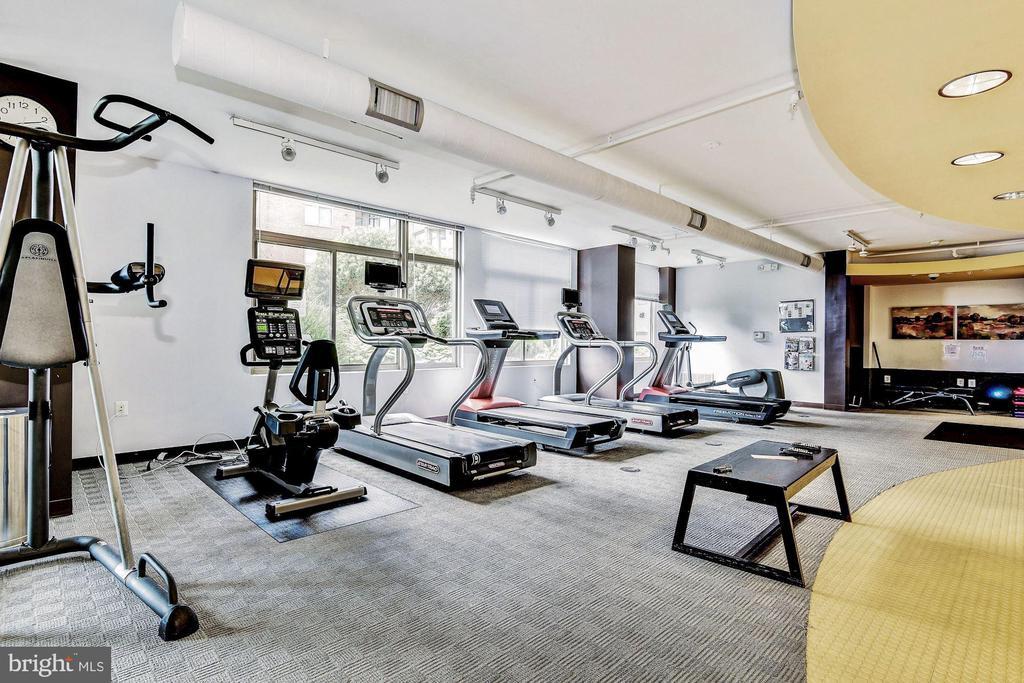 Fitness Center - 3600 S GLEBE RD S #428W, ARLINGTON