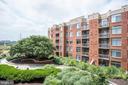 View from private balcony - 3600 S GLEBE RD S #428W, ARLINGTON