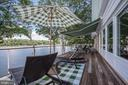 Master Side Deck and Awning - 2920 SOUTHWATER POINT DR, ANNAPOLIS