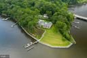 Aerial View of  Over 700 Feet of Rip Rap - 2920 SOUTHWATER POINT DR, ANNAPOLIS