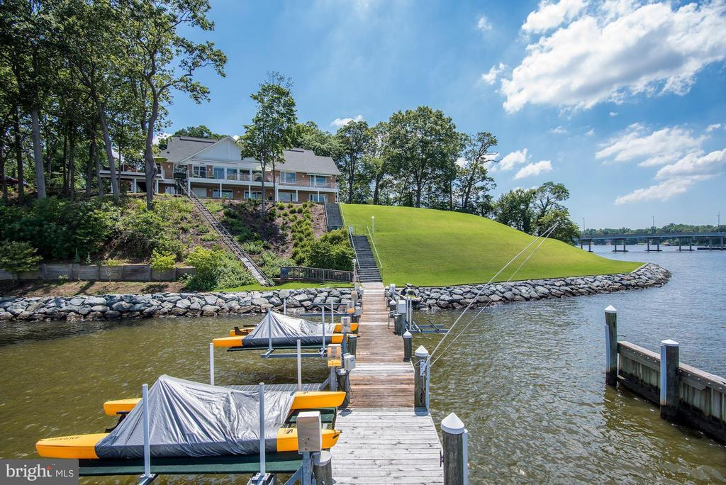 Private Pier, Dock and Deep Water - 2920 SOUTHWATER POINT DR, ANNAPOLIS