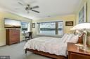 Lower Level En-Suite Bedroom & Picture Window View - 2920 SOUTHWATER POINT DR, ANNAPOLIS