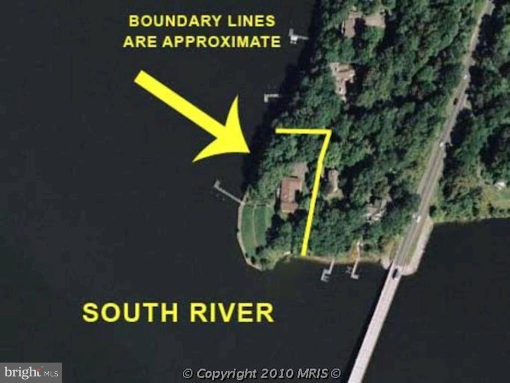 Map View - 2920 SOUTHWATER POINT DR, ANNAPOLIS