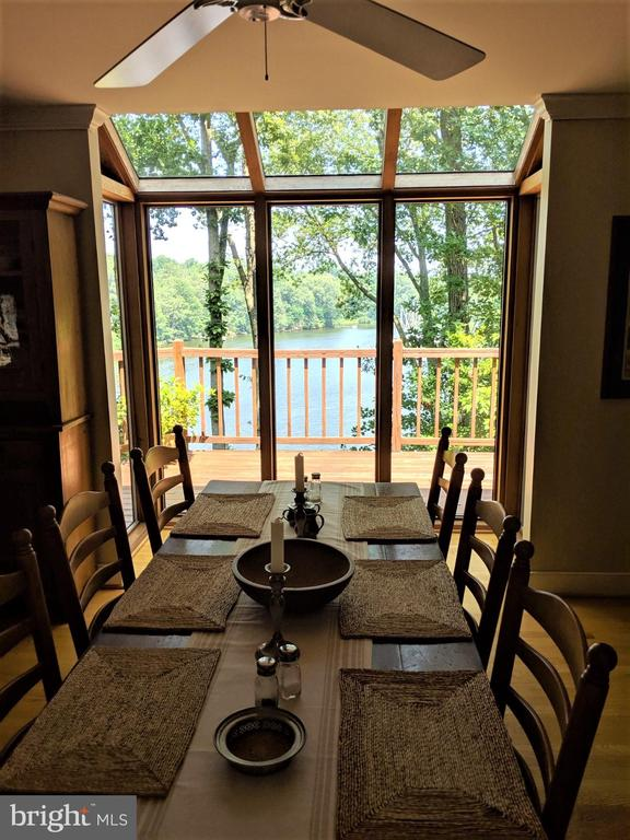 view from your breakfast table - 236 MOUNTAIN LAUREL LN, ANNAPOLIS