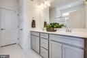 Owner's bath - 400 CONEFLOWER LN, STAFFORD