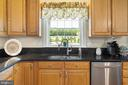 DOUBLE SINK WITH DELIGHTFUL VIEW OF THE GROUNDS - 228 ROCK HILL CHURCH RD, STAFFORD