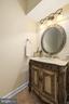 BEAUTIFUL VANITY IN THE HALF BATH - 228 ROCK HILL CHURCH RD, STAFFORD