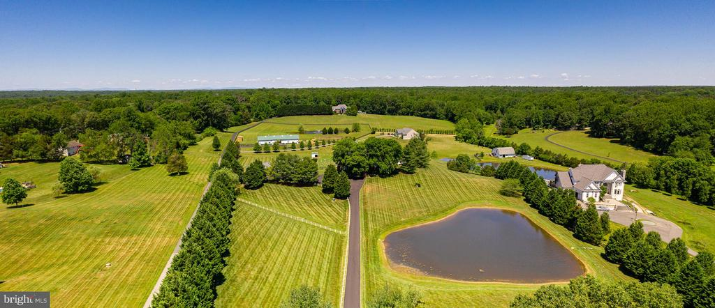 VIEW AS YOU COME ONTO THE PROPERTY - 228 ROCK HILL CHURCH RD, STAFFORD