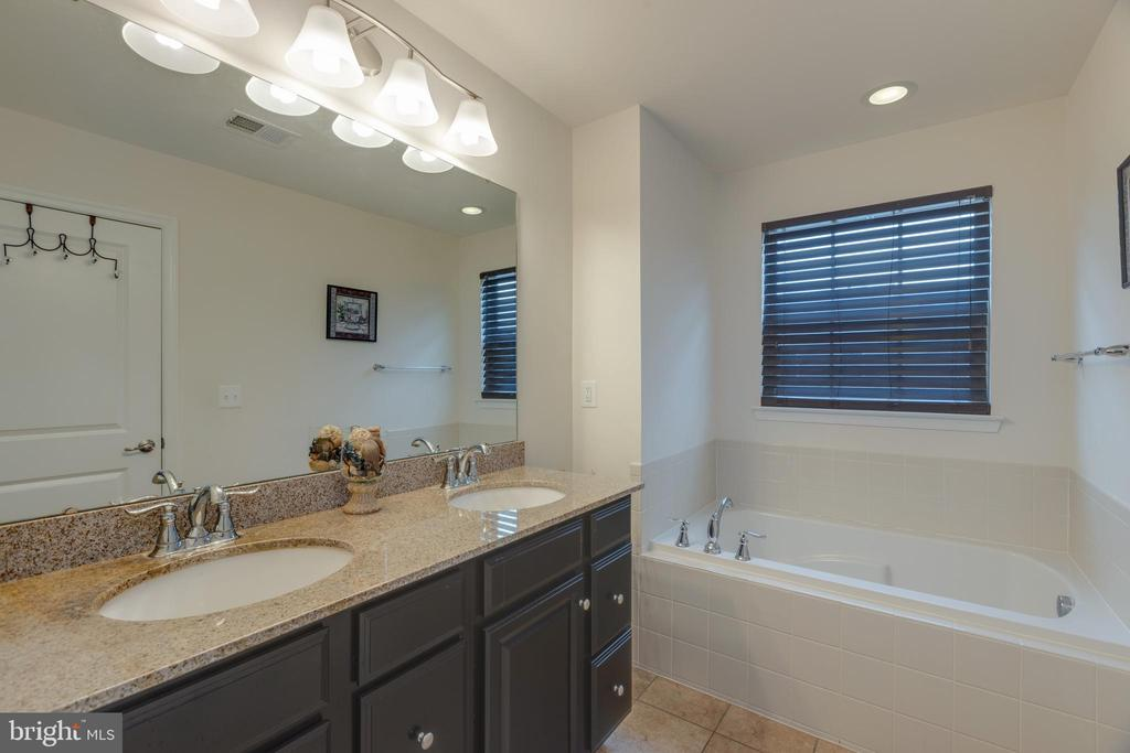 Master bath - double vanity and large tub! - 41887 COUNTRY INN TER, ALDIE