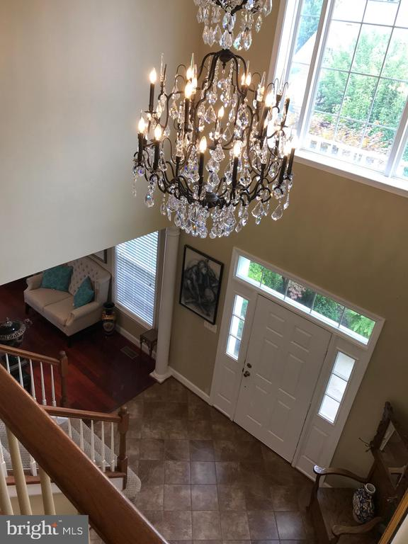 Foyer view from upstairs - 11079 SANANDREW DR, NEW MARKET