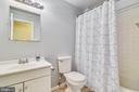 Fourth Full Bathroom in the Basement - 21121 FIRESIDE CT, STERLING