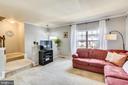 Living Room - 21121 FIRESIDE CT, STERLING