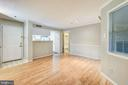 Living /Dining Room - 1504 LINCOLN WAY #404, MCLEAN