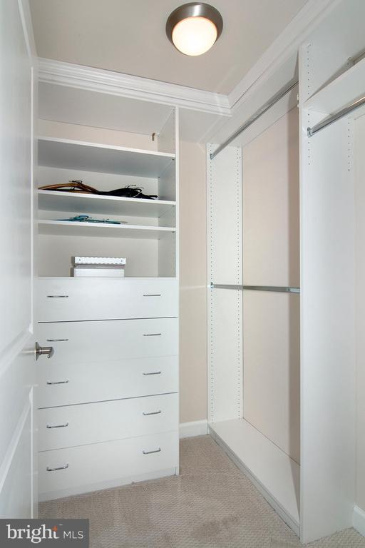 2nd bedroom with walk-in closet - 5750 BOU AVE #1508, NORTH BETHESDA