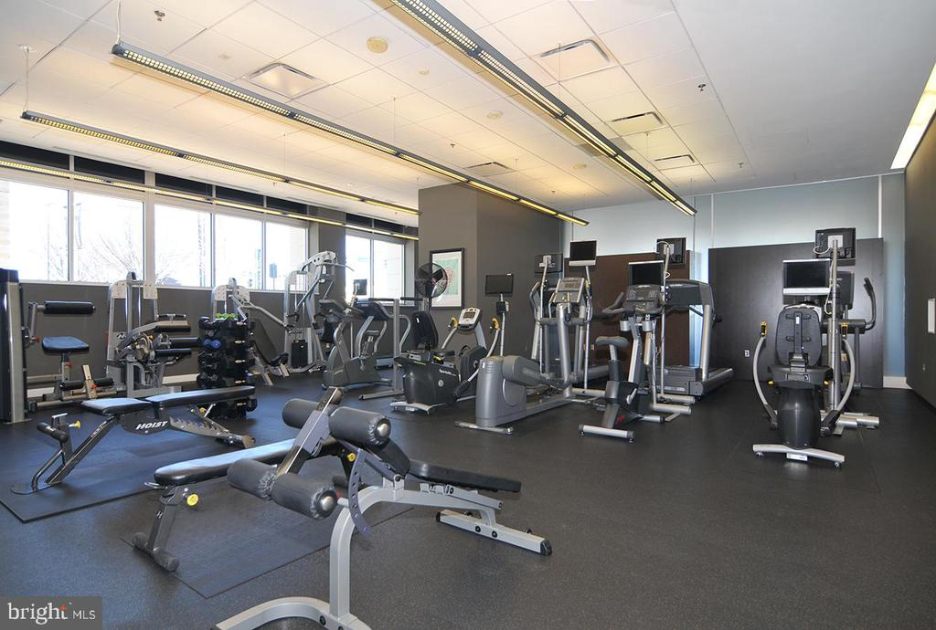 Fitness room - 5750 BOU AVE #1508, NORTH BETHESDA