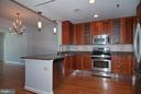 Kitchen and dining area - 5750 BOU AVE #1508, NORTH BETHESDA