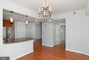 Den  across from the kitchen - 5750 BOU AVE #1508, NORTH BETHESDA