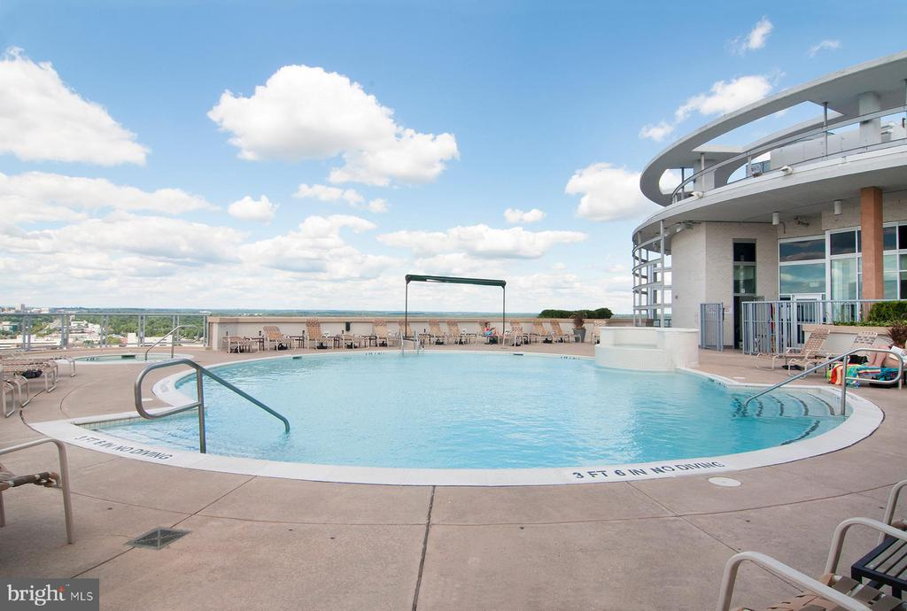 Swim on the roof - 5750 BOU AVE #1508, NORTH BETHESDA