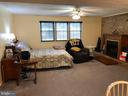 Large Family Rm in basement with propane fireplace - 9894 PAR DR, NOKESVILLE