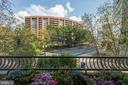 Balcony views from living room - 1300 CRYSTAL DR #306S, ARLINGTON