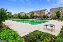 Outdoor pool - 22602 PINKHORN WAY, ASHBURN
