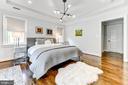 Owner's suite featuring 2 walk in closets - 4522 CHELTENHAM DR, BETHESDA