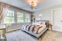 Bedroom #4 on the 3rd level - 4522 CHELTENHAM DR, BETHESDA