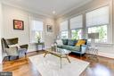 Beautiful living room. - 4522 CHELTENHAM DR, BETHESDA