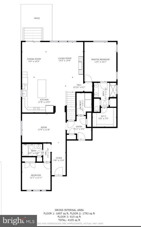 Main level - 400 CONEFLOWER LN, STAFFORD