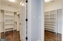 Fabulous closet space! - 4522 CHELTENHAM DR, BETHESDA